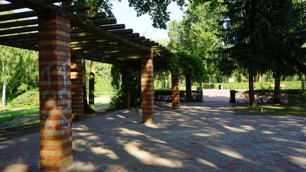 Außenanlage des Freibades Kiebitzberg 2