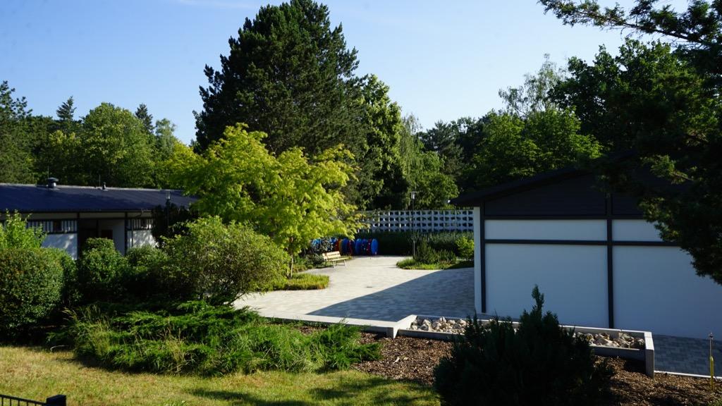Außenanlage des Freibades Kiebitzberg 4