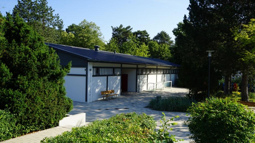 Außenanlage des Freibades Kiebitzberg 5