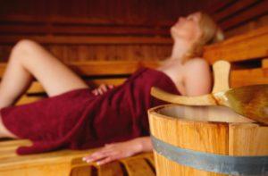Sauna im Freibad Kiebitzerge