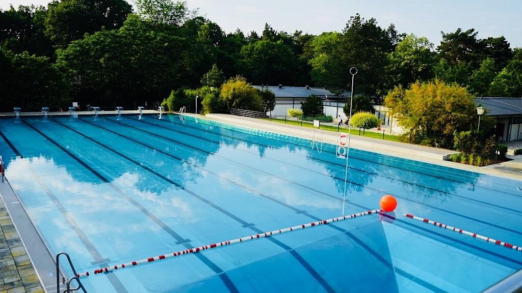 Freibad Kiebitzberge 50 Meter Sportbecken