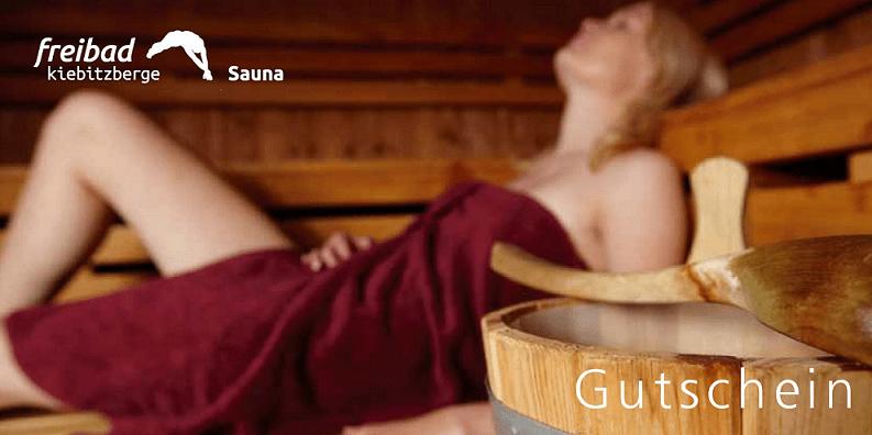 Sauna-Button klein Gutschein